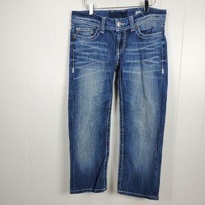 BKE capri cropped jeans